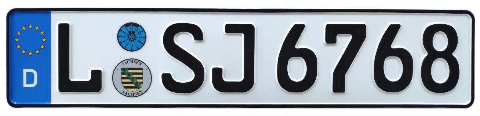 Немецкие номерные знаки наклейки бесплатно
