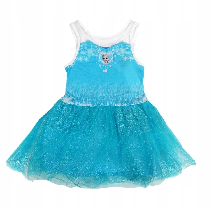 FROZEN DRESS ICE LAND šaty ELSA Anna r116