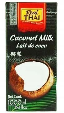 молоко маточное Кокосовое свежий 1л Real Thai