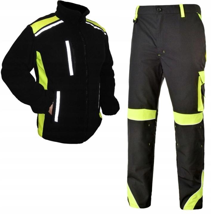 светоотражающая одежда рабочие брюки толстовка r. L