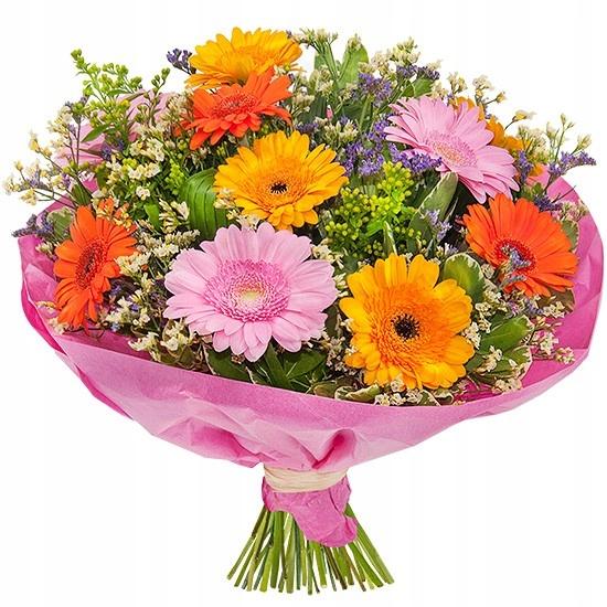 РАДОСТНЫЙ букет - доставка цветов Poczta Kwiatowa