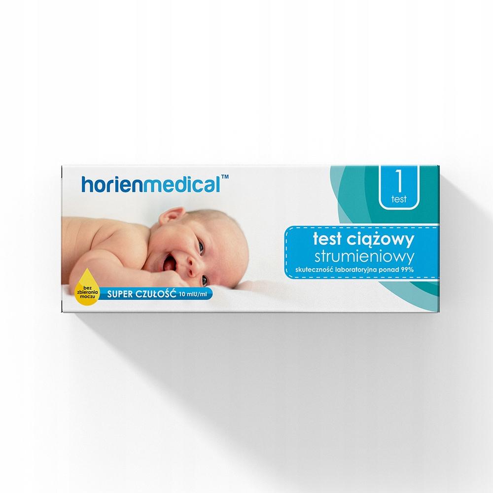 TEST CIĄŻOWY STRUMIENIOWY HorienMedical 1 szt