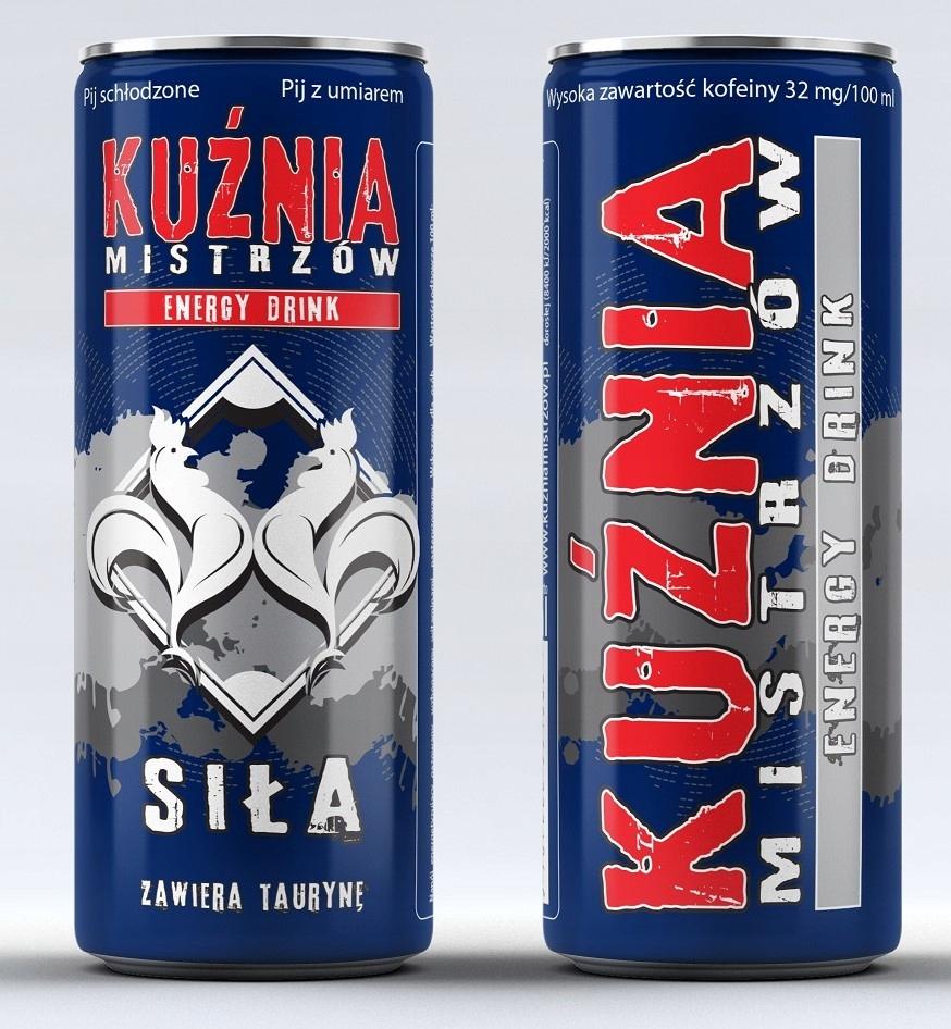 Energy Drink FORGE MAJSTROV nastaviť 72 kusov