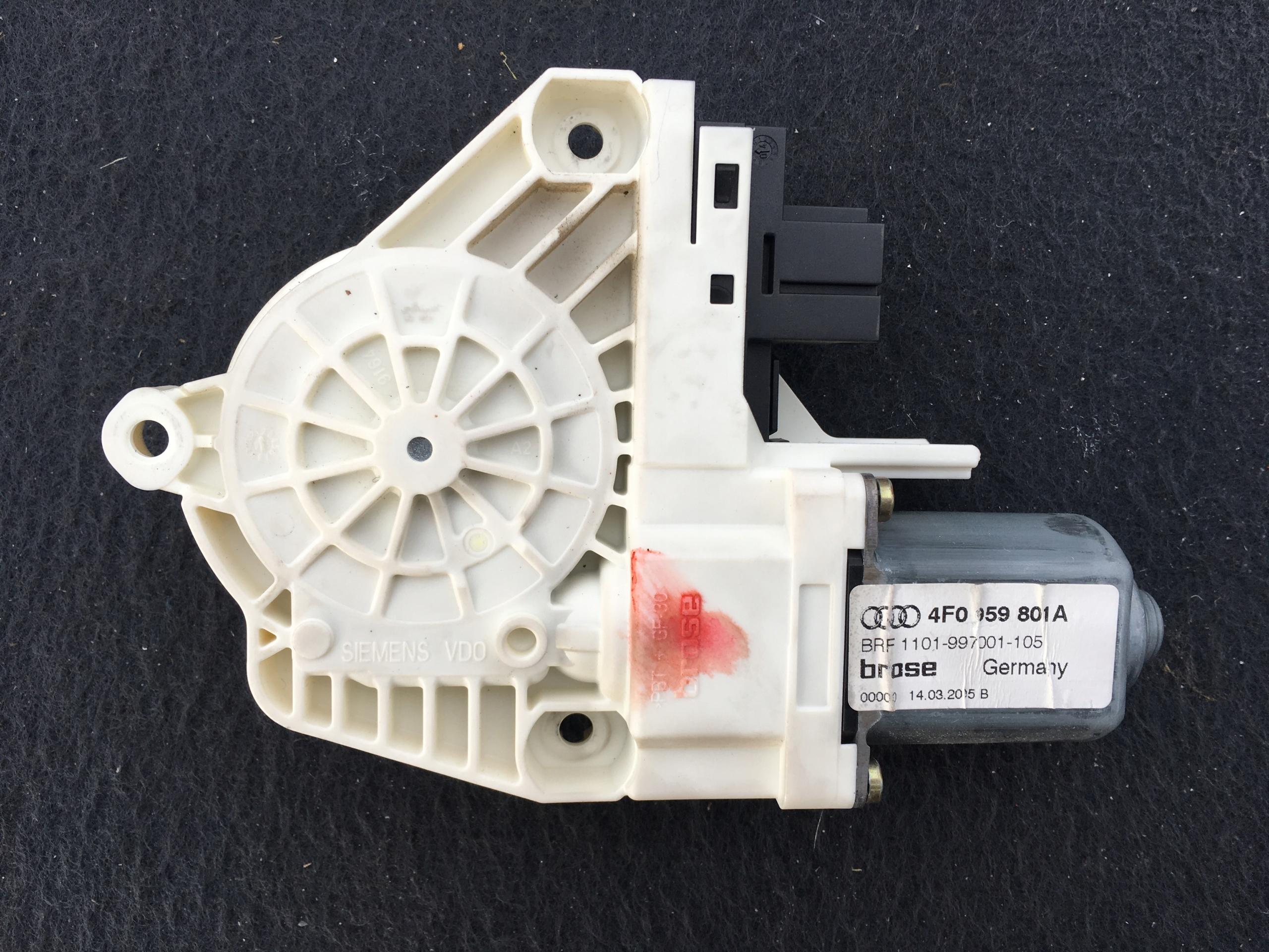 двигатель стекла левый сзади audi a6 c6 4f0959801a