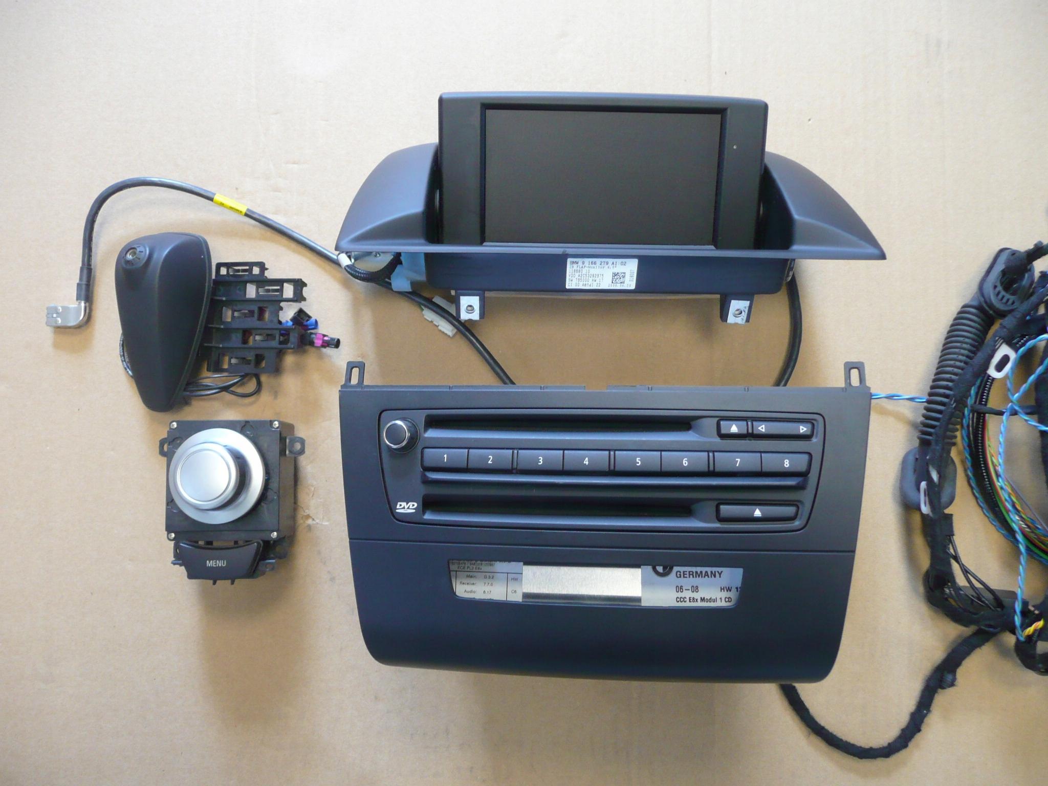 bmw e87 1 навигация navi dvd cd 9185532