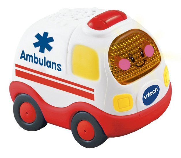 VTECH TUT TUT CARS AMBULANCE CARRIER SPEAKS PL