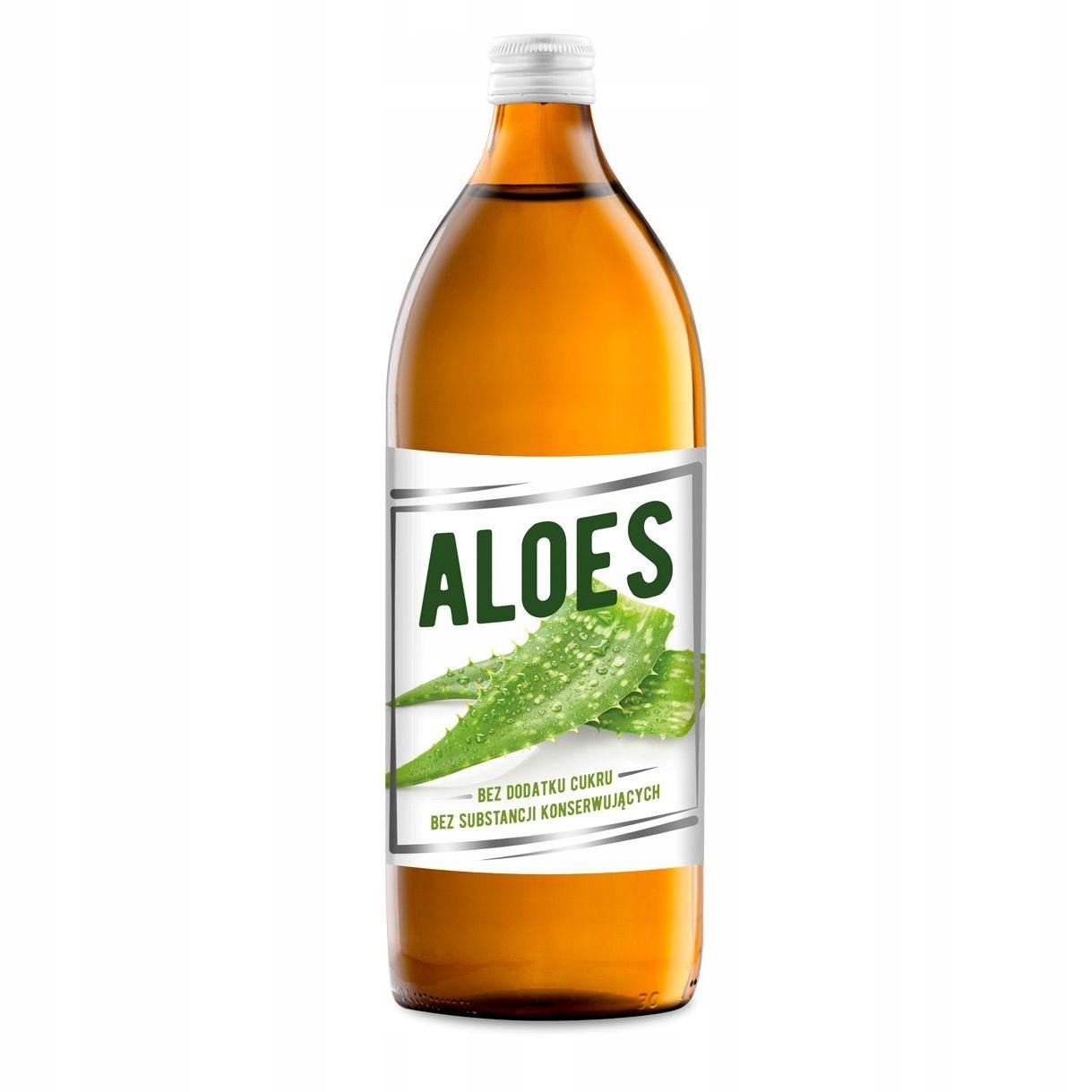 Sok z Aloesu 1000ml 1l naturalny bez konserwantów!