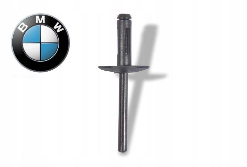 Новый оригинальный распорный Заклепки черный 10шт BMW ASO