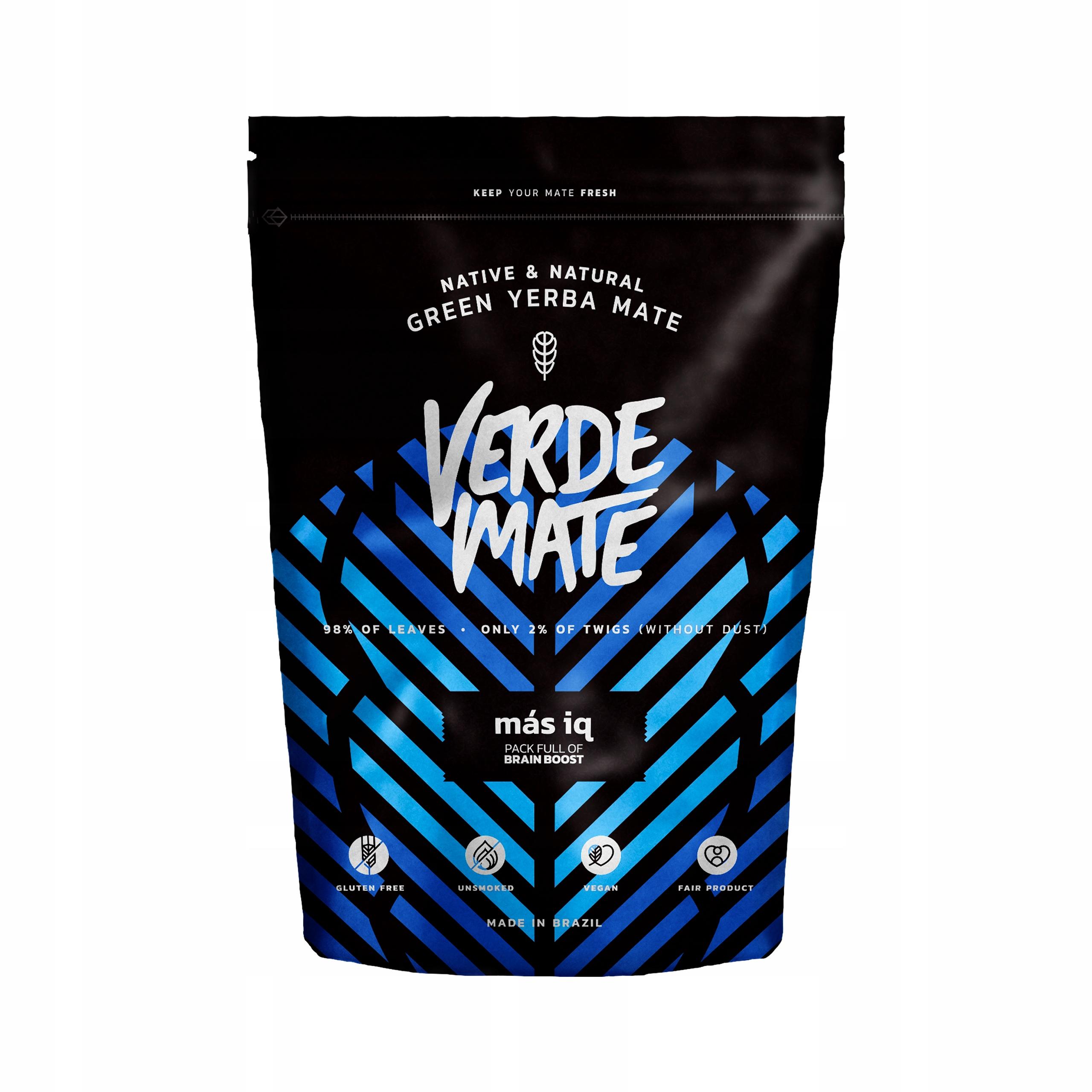 Yerba Mate green Verde Mate Масс IQ Ноль ,5 кг 500 г