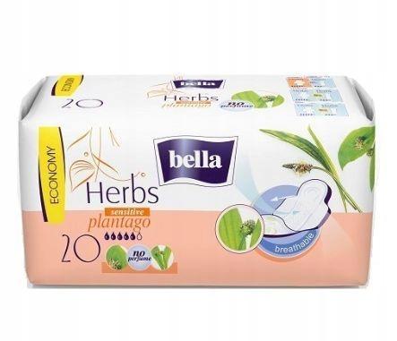 Гигиенические прокладки Bella Herbs Sensitive с бабушкой 20 шт