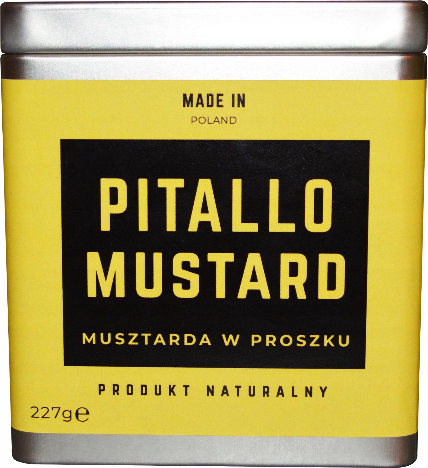 Item Mustard Powder 227g Pitallo Mustard Spicy!