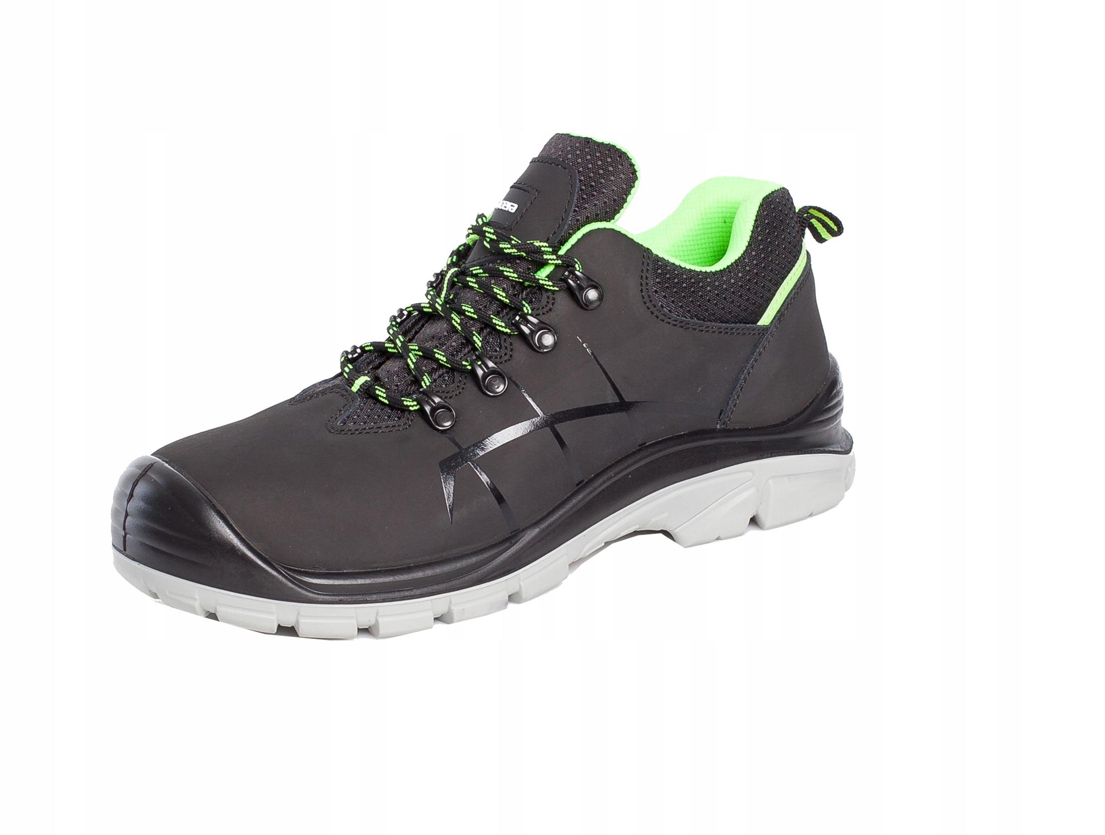 Ботинки рабочие защитные Спортивные Полуботинки BHP NERO 44