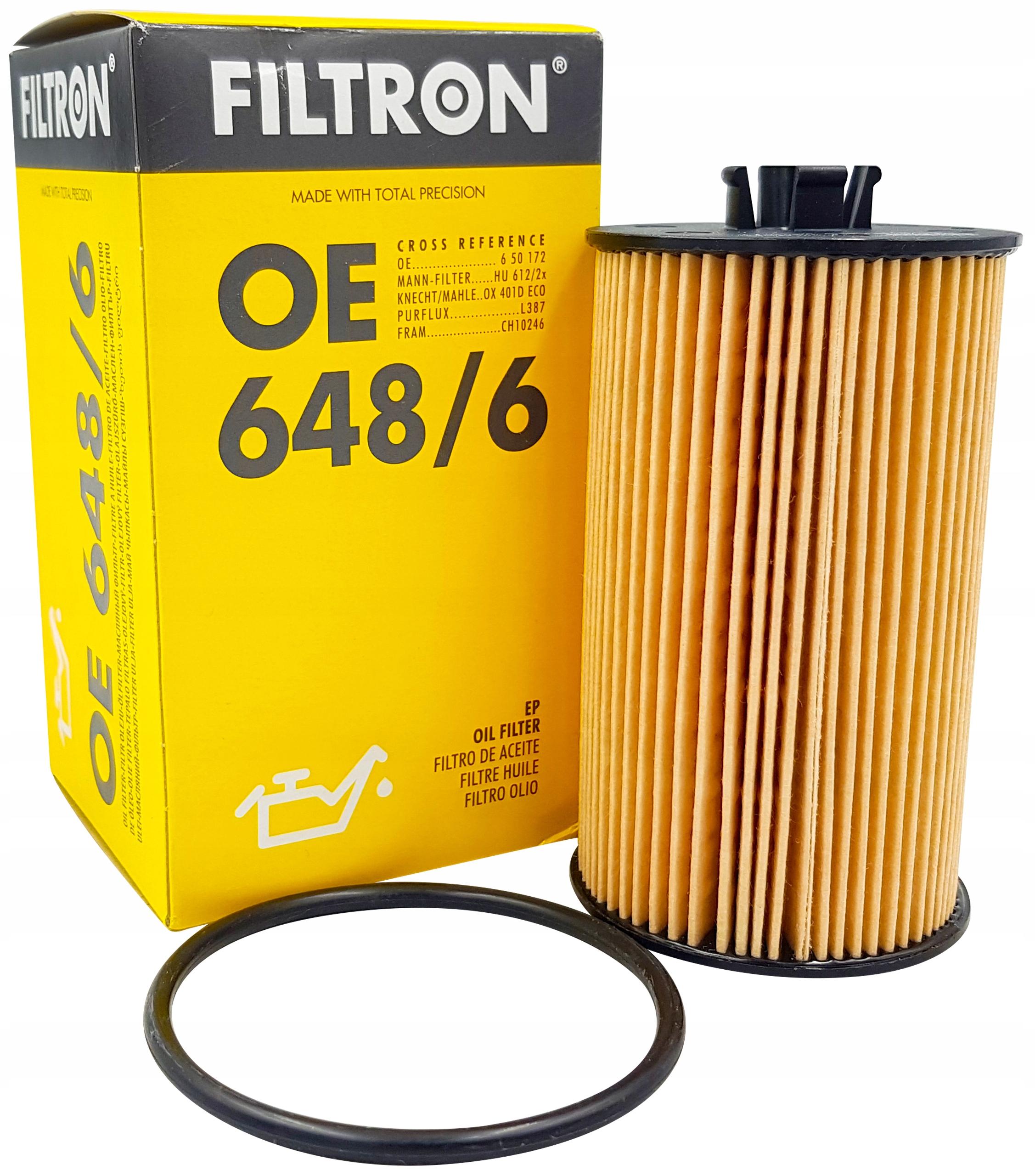 Filtron oe648//6/Filtro olio