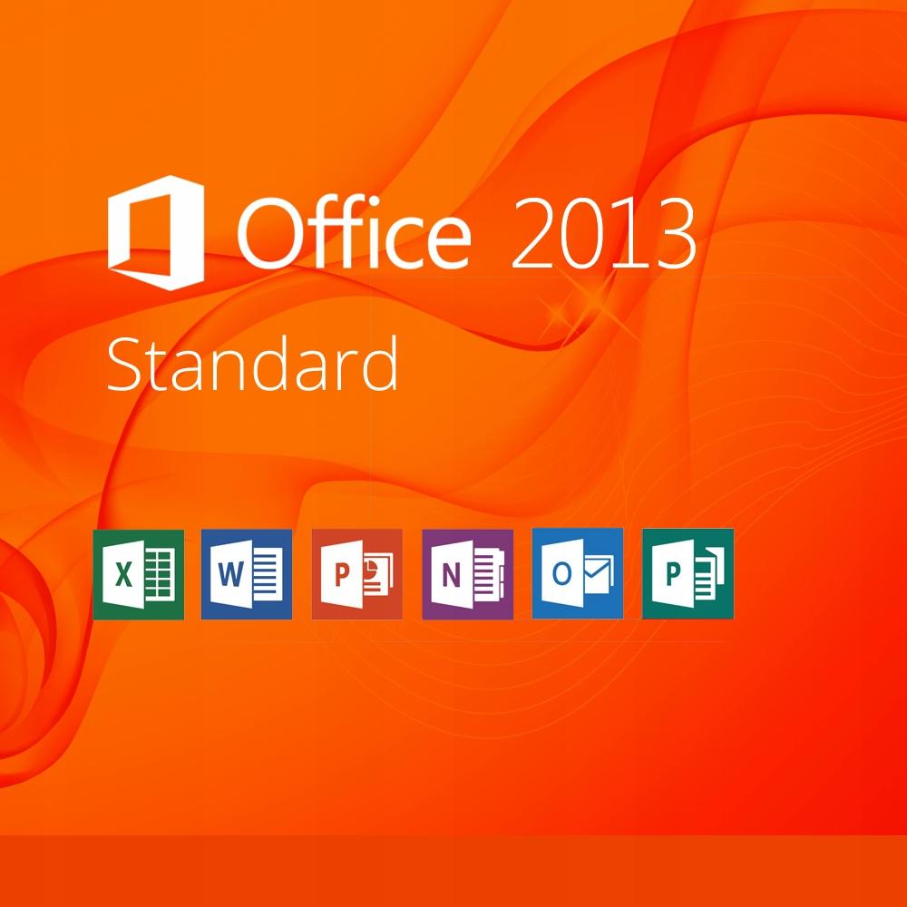 Microsoft Office 2013 Standard доставка товаров из Польши и Allegro на русском