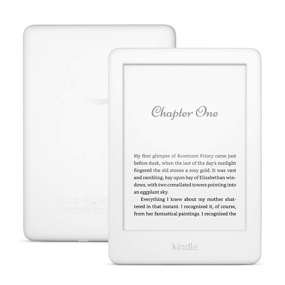 Amazon Kindle 10 Touch BEZ REKLAM biały + GRATISY