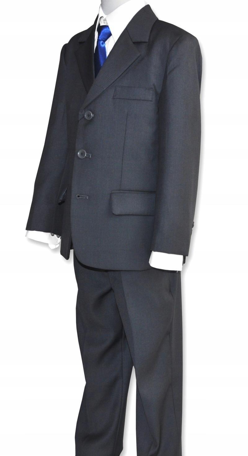 Oblek 5el TRIČKO spoločenstvo skúšku GRAFIT128/134