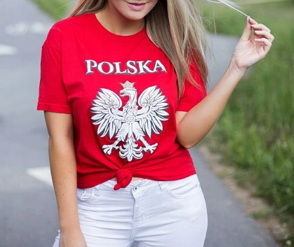 Купить ФУТБОЛКА БОЛЕЛЬЩИКА ПОЛЬША ХЛОПОК 4FJREMD102 30-55 HAPPIT на Eurozakup - цены и фото - доставка из Польши и стран Европы в Украину.