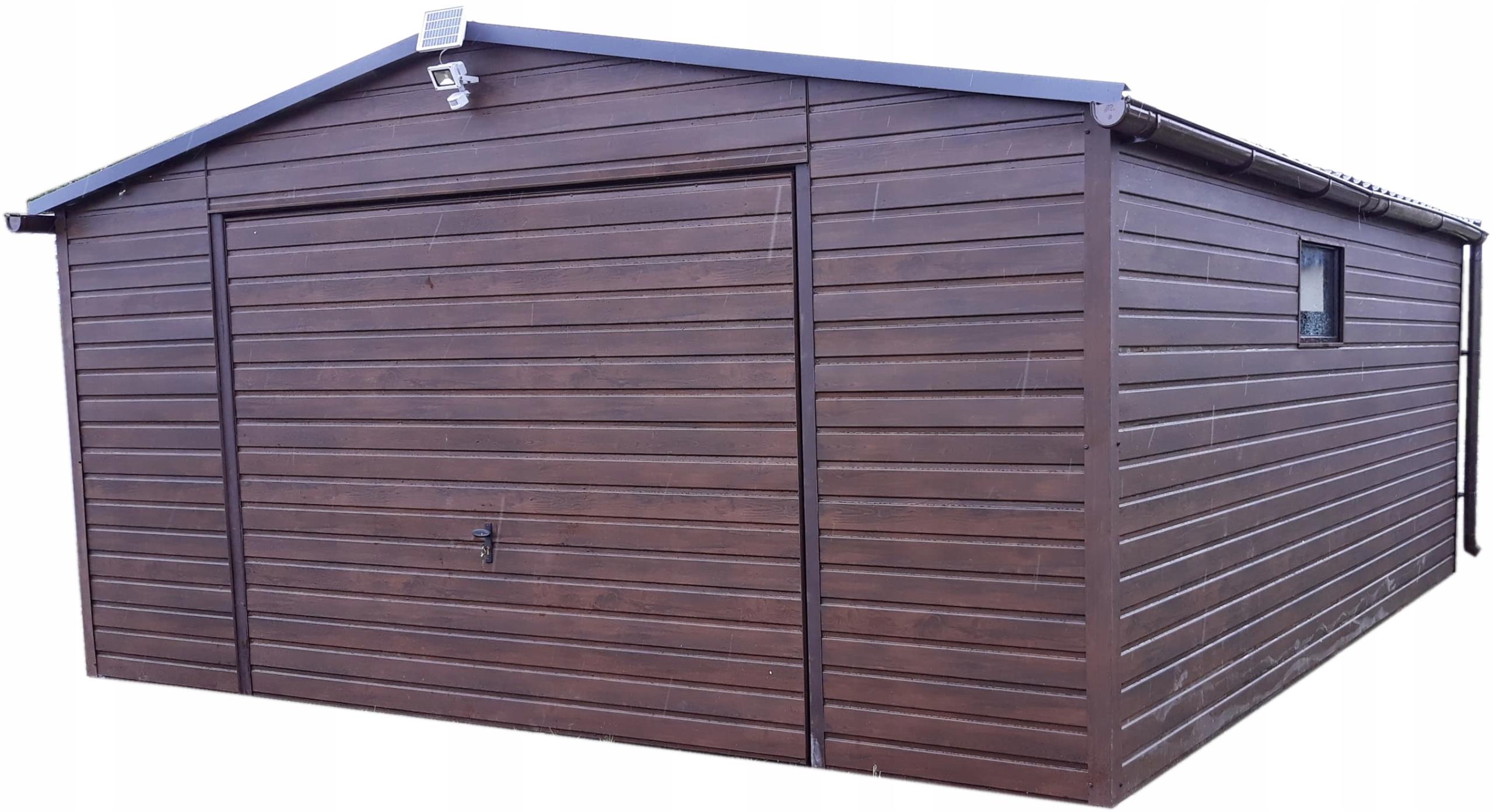 Жестяные гаражи, навесы, холл от производителя 5х6