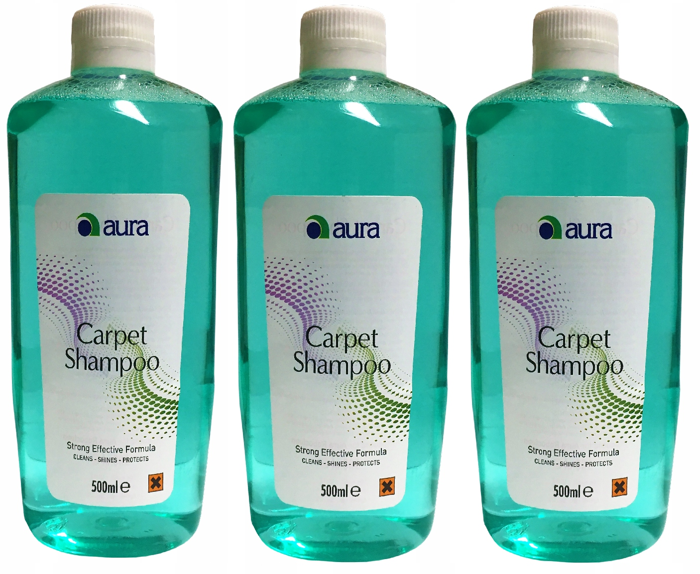 3x ROBOCLEAN CARPET SHAMPOO 500ml