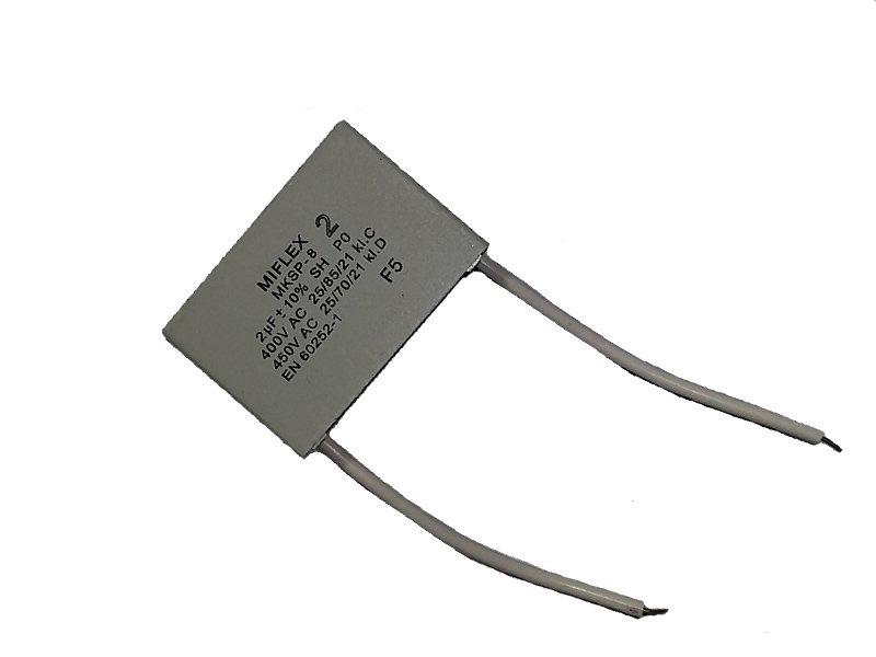 Стартовый конденсатор - эксплуатация для двигателя 2uF 400V