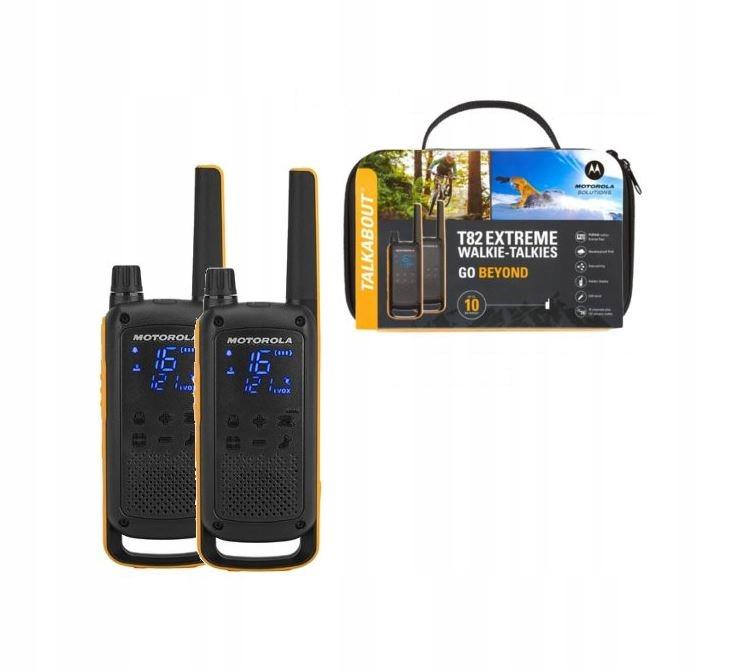 Item MOTOROLA WALKIE talkie T82 EXTREME RADIO