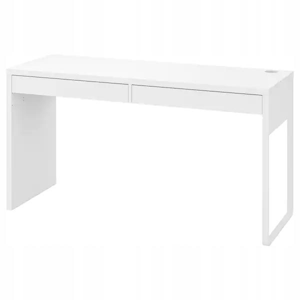 MICKE Stôl, 2 zásuvky, BIELA IKEA 142x75x50