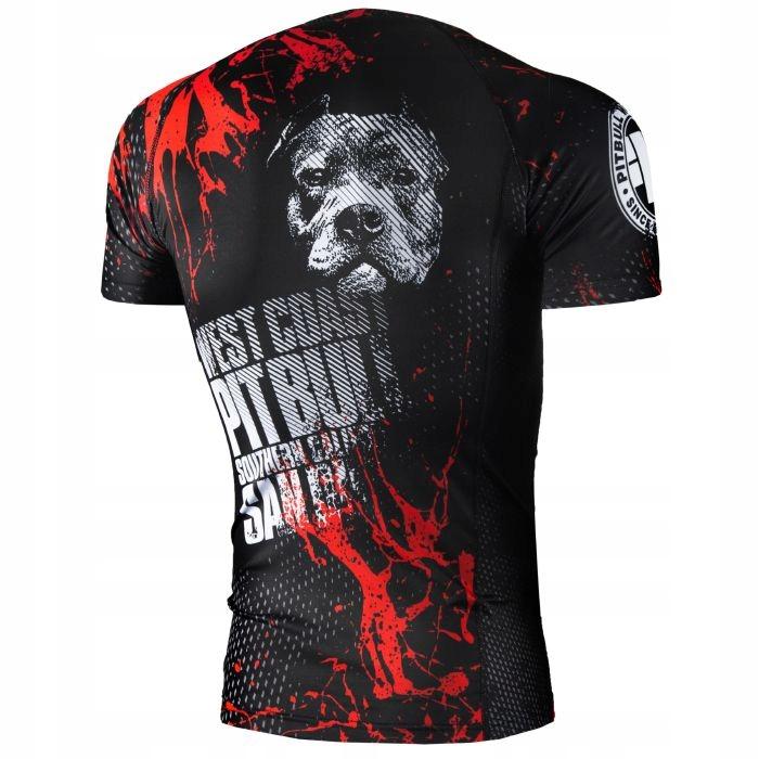 Купить питбуль Бультерьер футболка Rashguard футболка Blood DOG 16/44 на Eurozakup - цены и фото - доставка из Польши и стран Европы в Украину.