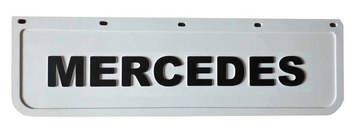 брызговик mercedes фартук белый штампованная chlapak