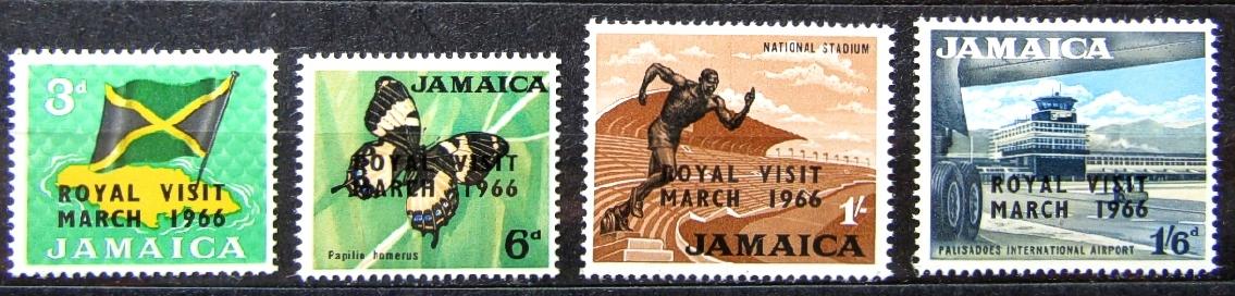 ЯМАЙКА - Mi 250 - 253 ** - 1966 ГОД