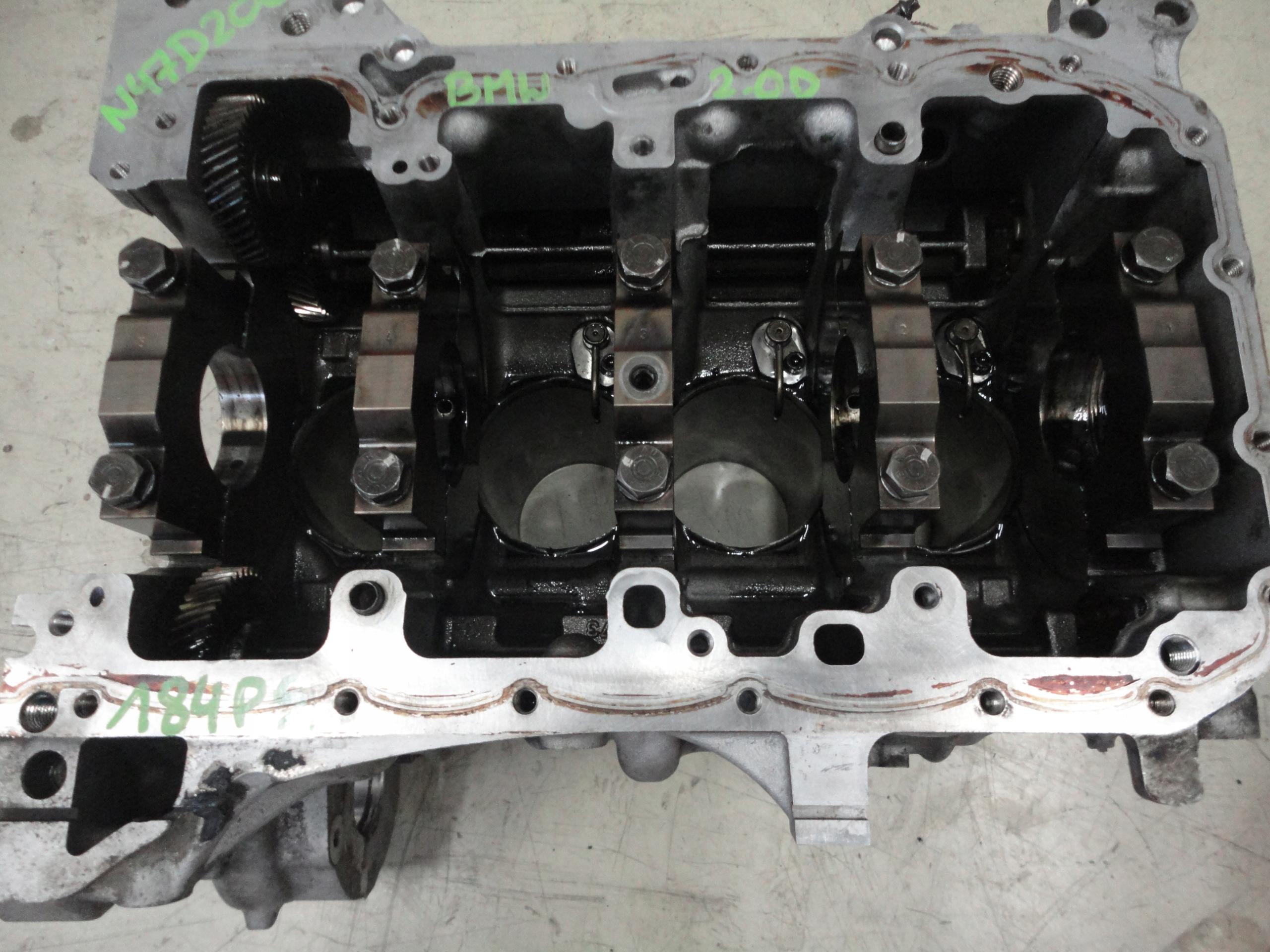 блок двигатель bmw 20 d n47d20a