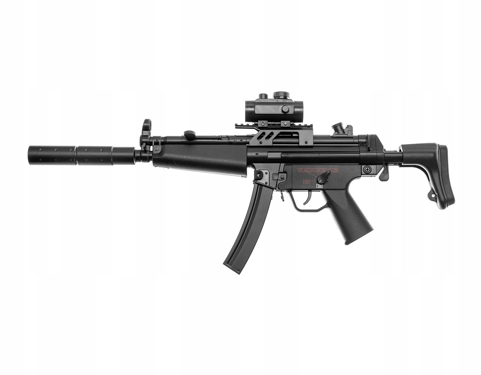 Zbraň ASG DLV B&T5 A5 AEG NASTAVIŤ