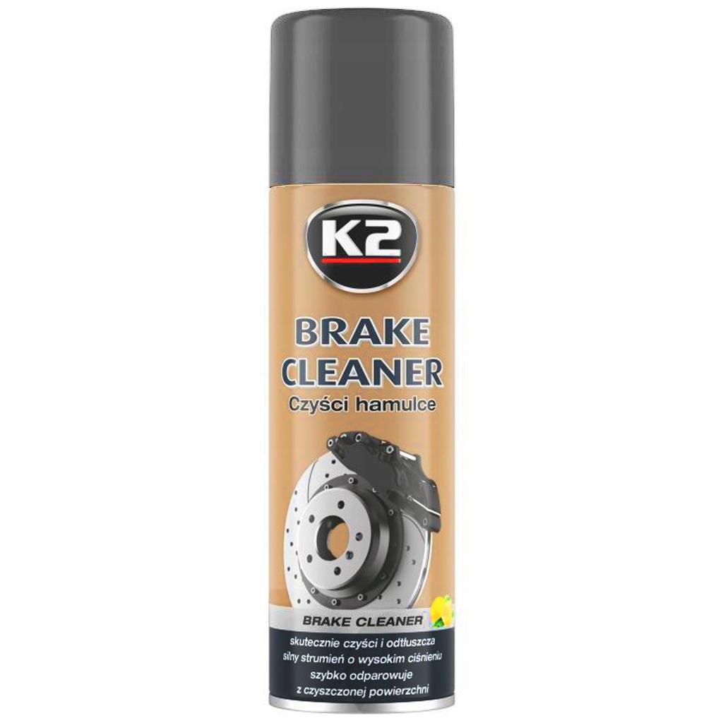 K2 BRAKE CLEANER очиститель, обезжириватель тормозов 500