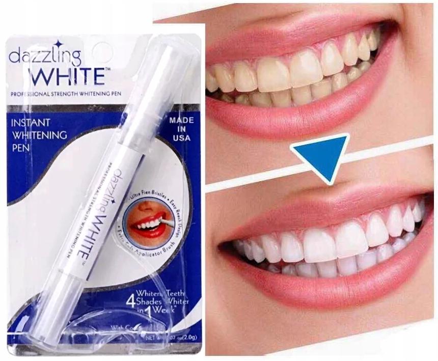 DAZZLING WHITE Pisak z żelem do Wybielania zębów