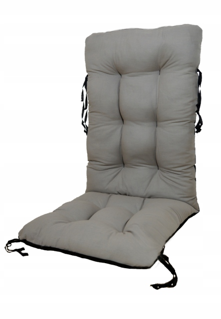 Подушка для садового стула шезлонг 48x48x75 сталь