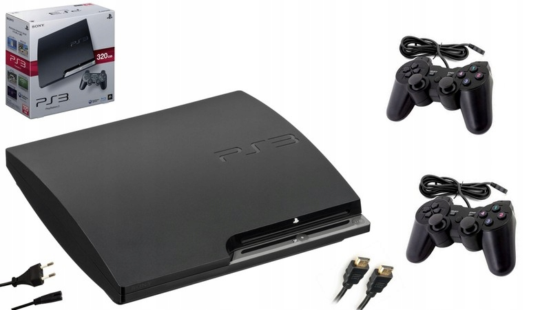 Item PlayStation 3 320GB 2 PADS GAMES