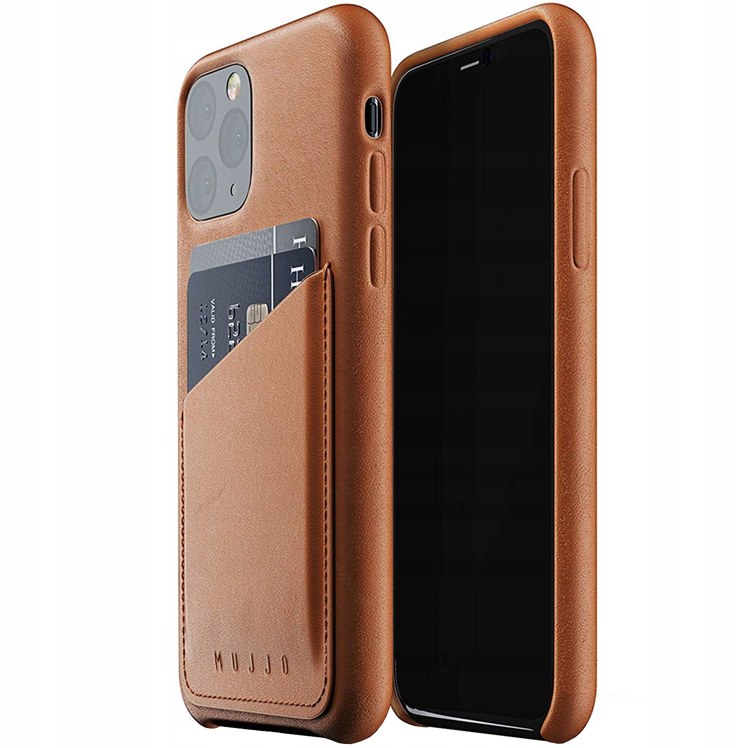 Etui skórzane do iPhone 11 Pro, Mujjo Leather Case