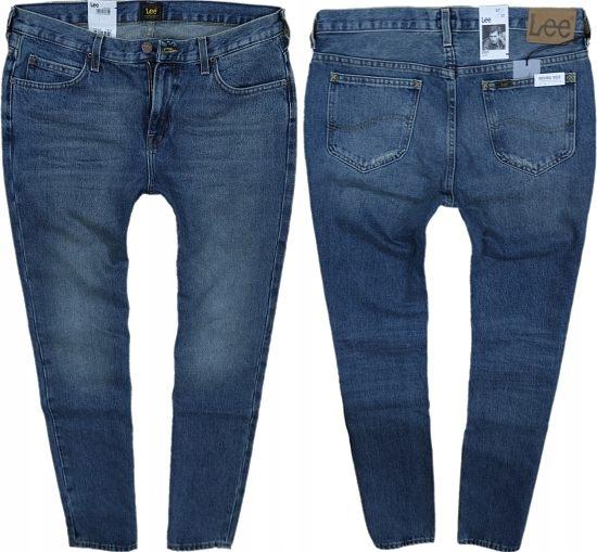 LEE RIDER džínsy slim SÚMRAKU VINTAGE hrubé W28 L32