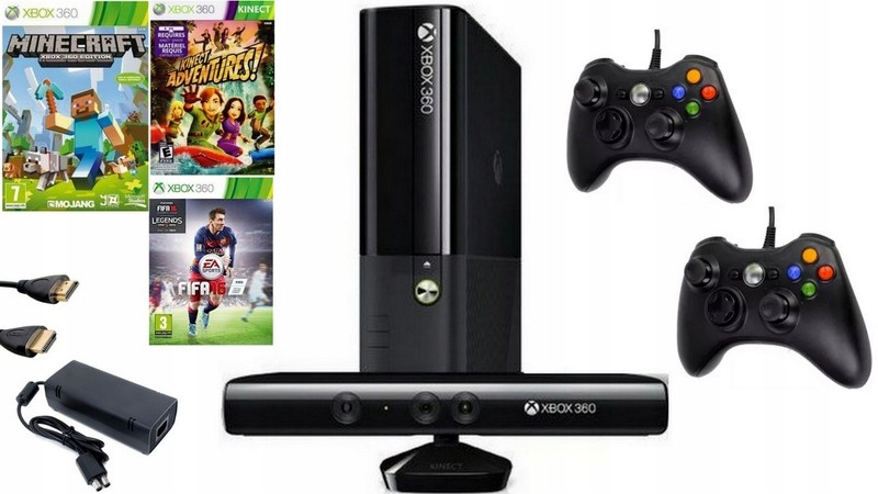 Xbox 360 Slim Kinect 2 Pad hra