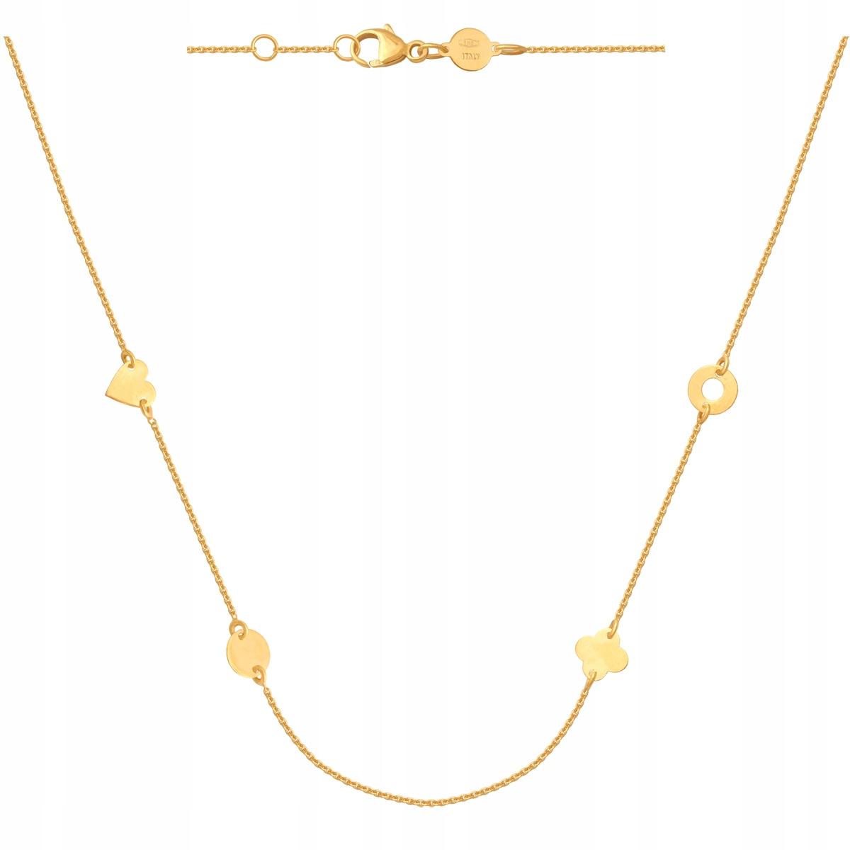 Zlatá Reťaz Prívesok 2.60 g 70 cm