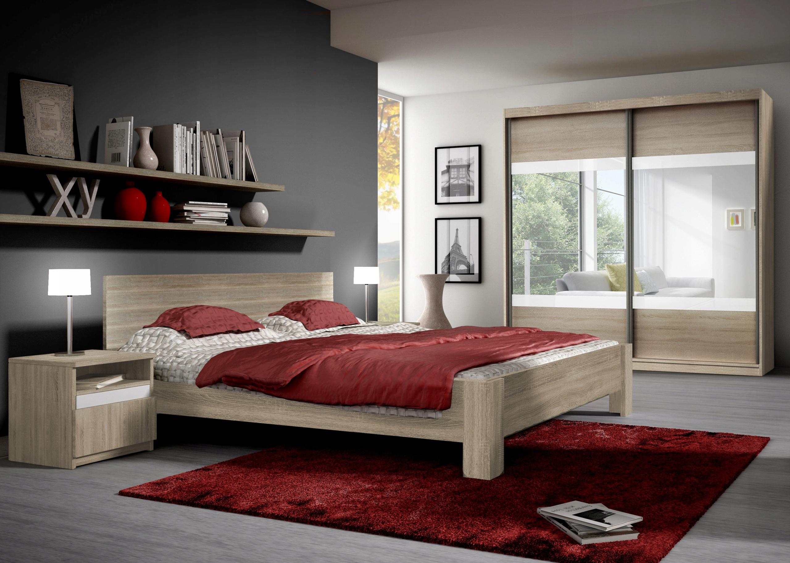 кровать шкаф 203 Столик Мебель для Спальня MEDI