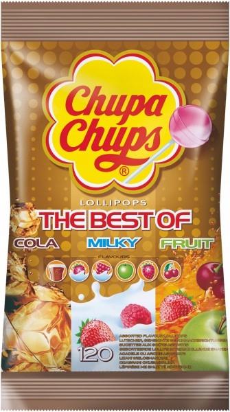 Lízanky Chupa Chups Mix Chutí taška 120szt