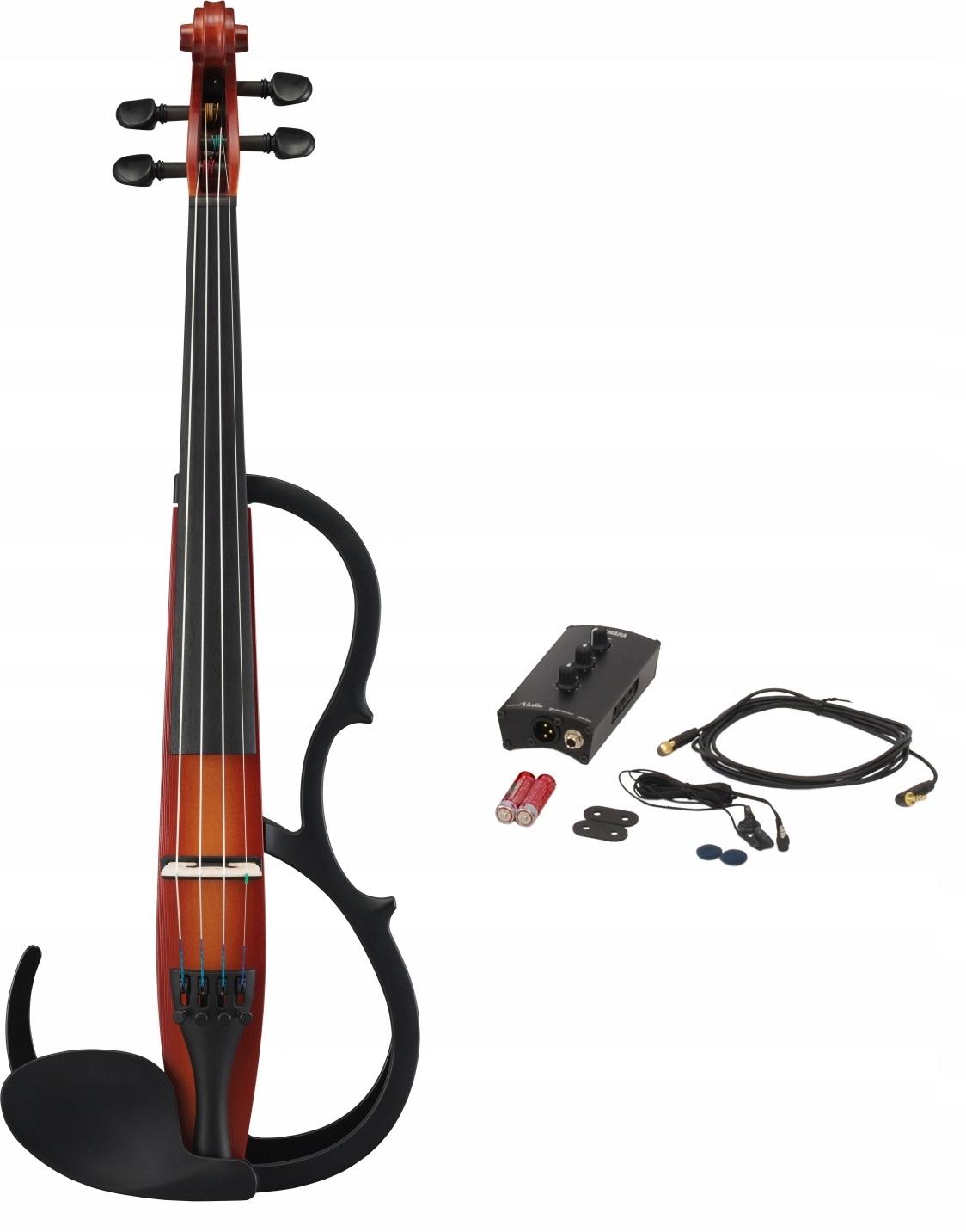 Item Electric violin Yamaha SV-250BR + control box