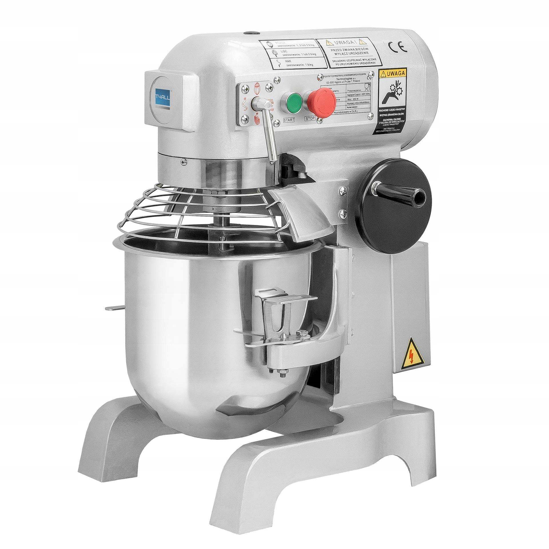 Planétový mixér Robot Mixer pre Cake 10l
