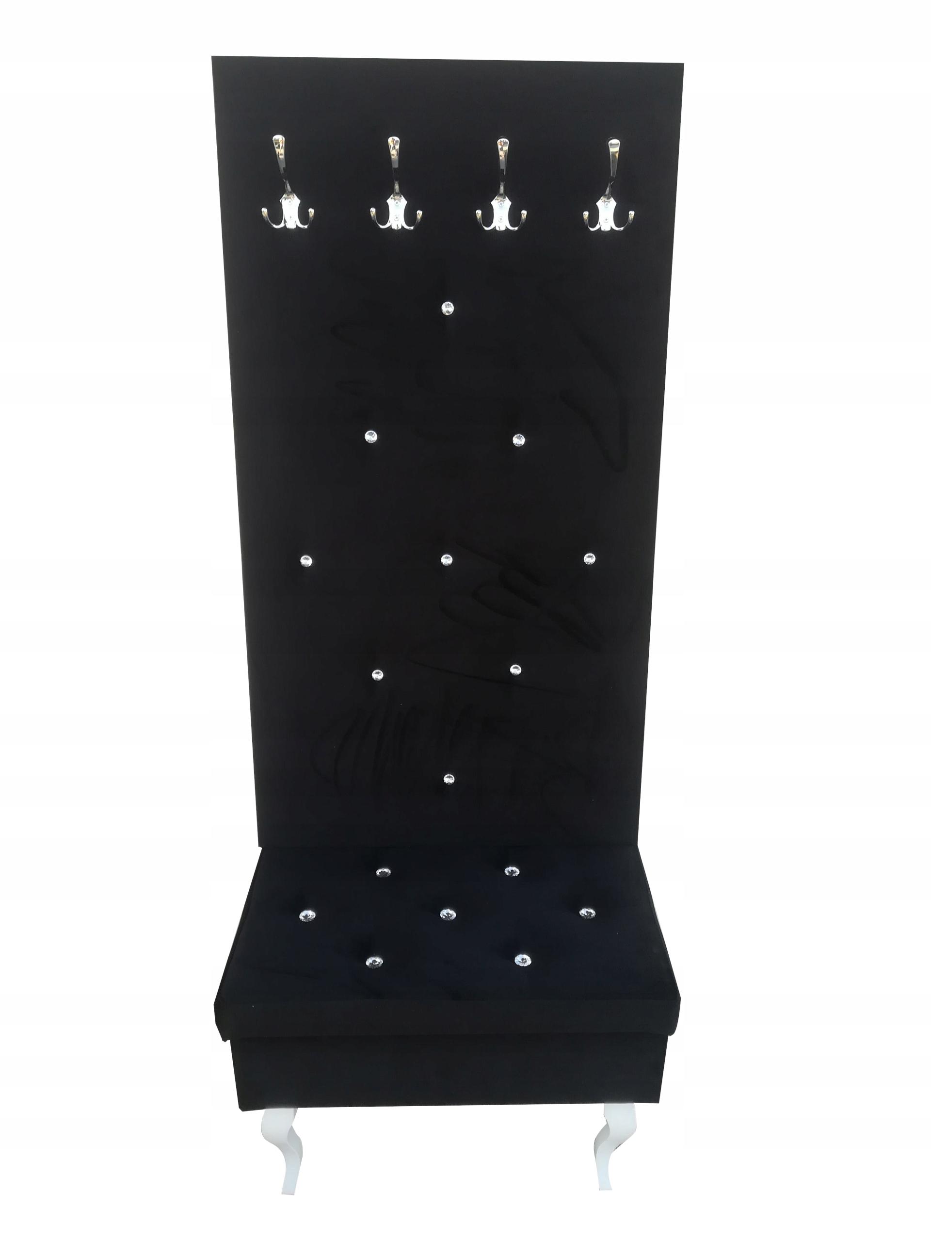 Očarujúce čalúnená vešiak + lavica 110 cm