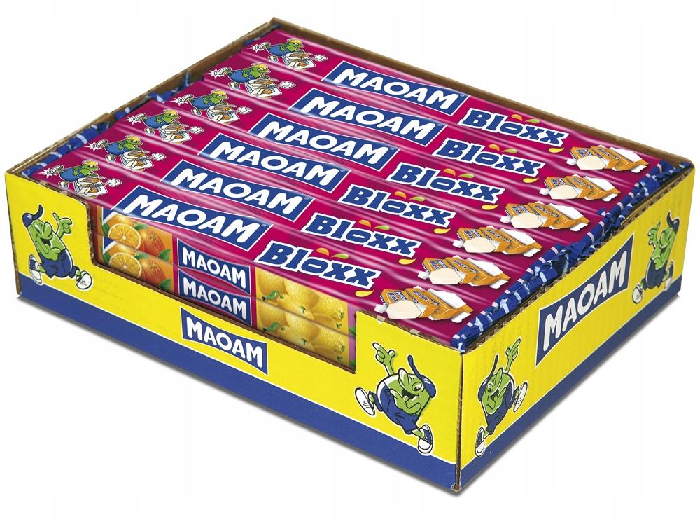 MAOAM BLOXX Ovocie Rozpustné 24 gumička