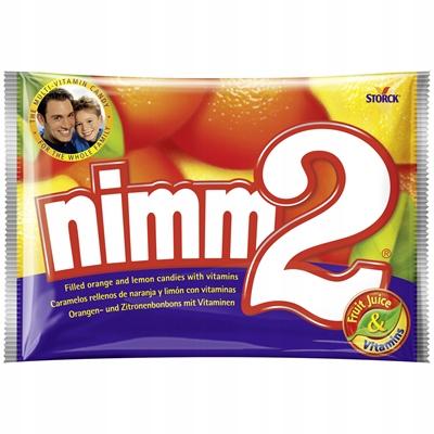 Фруктовые конфеты Nimm 2 Mega Paka 1 кг из Германии