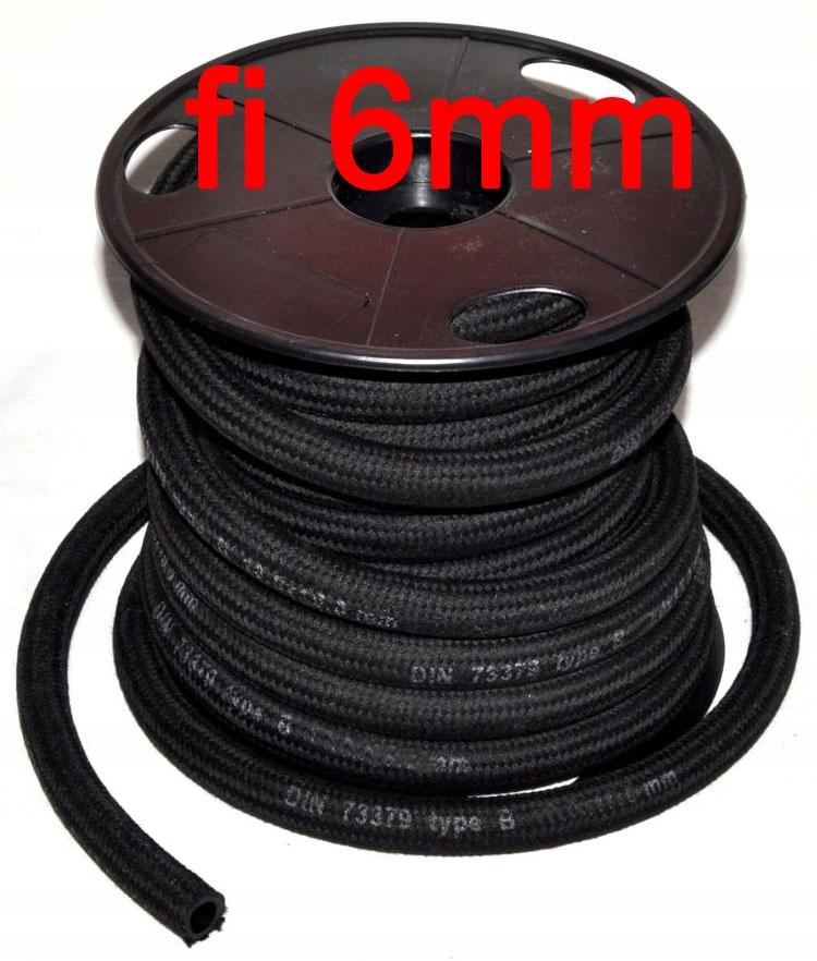 кабель топлива топлива шланг шланг w оплетке 6 мм