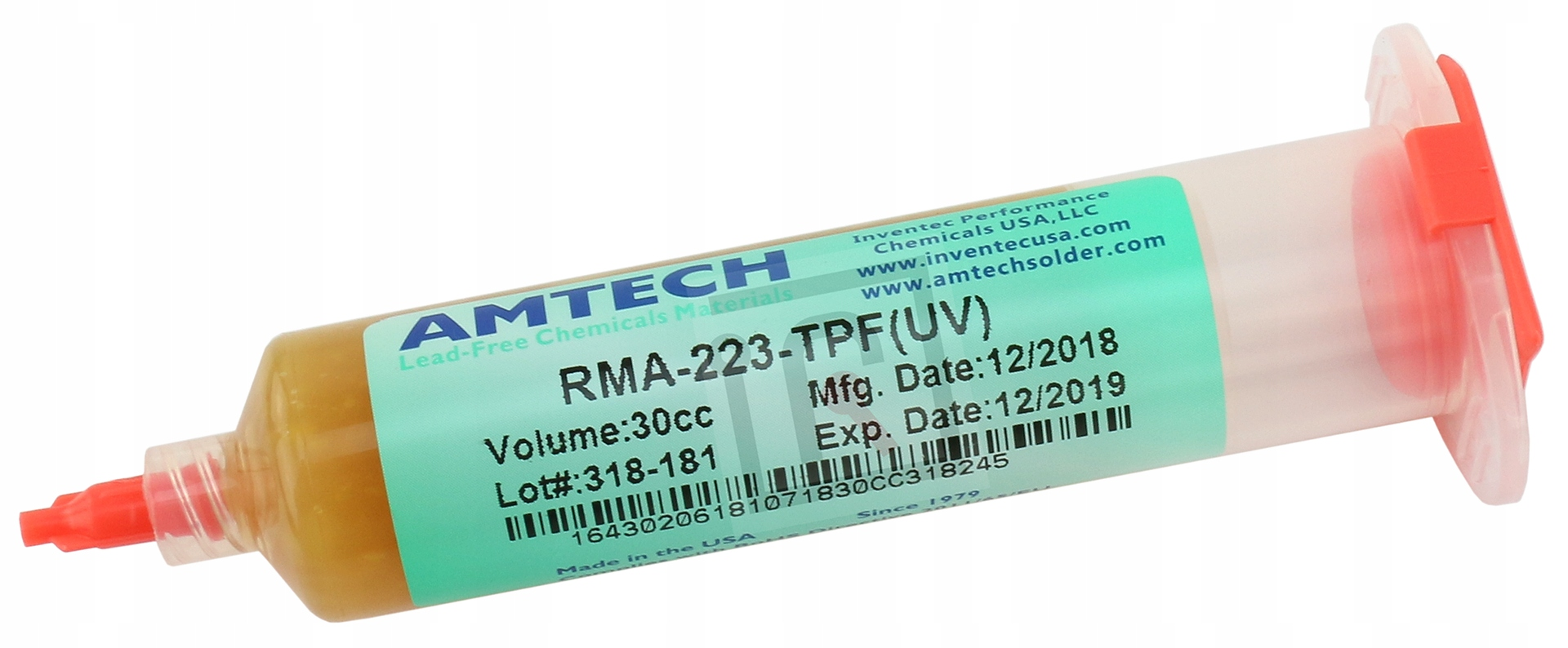 FLUX ФЛЮС BGA SMD AMTECH RMA-223-TPF(УФ) 30g