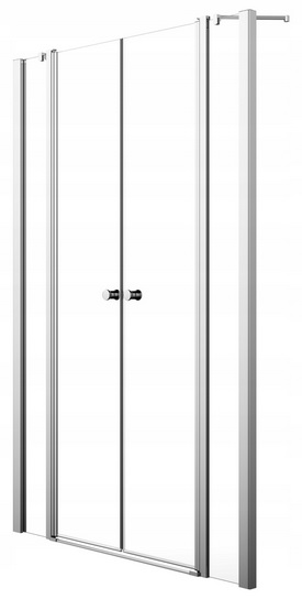 Sprchové dvere RADAWAY Eos II DWD 170x195 W1
