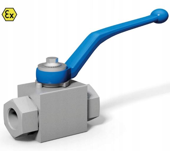 Hydraulický guľový ventil BKH DN25 1